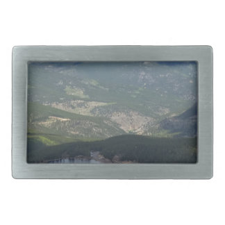 Mount Evans, Colorado Belt Buckle