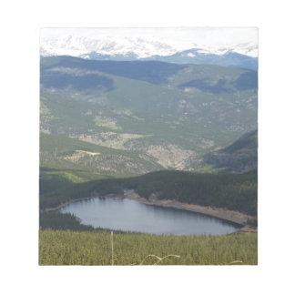 Mount Evans, Colorado Notepad