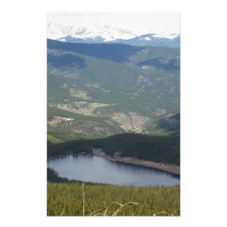 Mount Evans, Colorado Stationery
