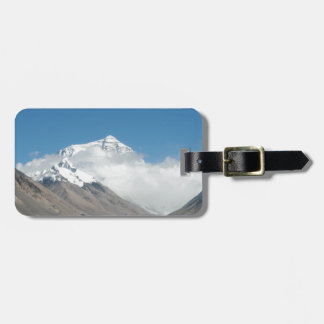 Mount Everest 10 Luggage Tag