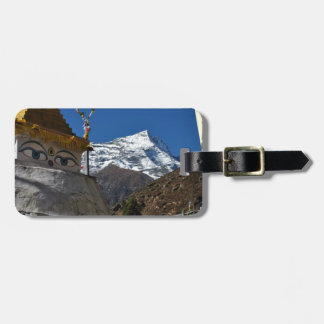 Mount Everest 8 Luggage Tag