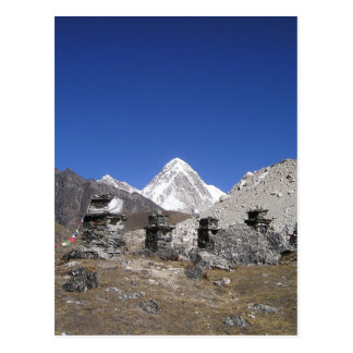 Mount Everest 9 Postcard