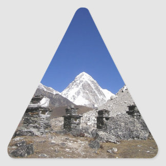 Mount Everest 9 Triangle Sticker