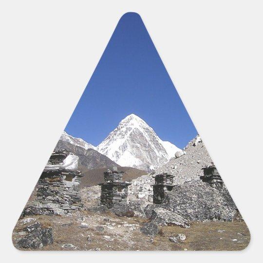 Mount Everest 9 Triangle Sticker