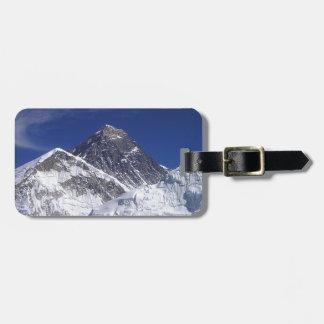 Mount Everest Luggage Tag