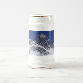 Mount Everest Photo Beer Stein