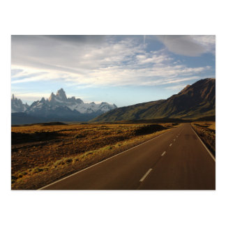 Mount Fitz Roy And Mount Cerro Torre Postcard