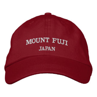 Mount Fuji Adjustable Baseball Hat