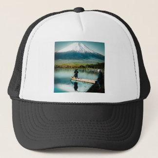 Mount Fuji from Lake Yamanaka 富士 Vintage Trucker Hat