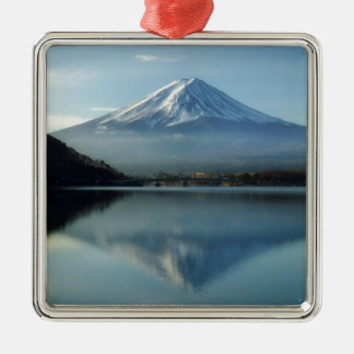Mount Fuji Metal Ornament