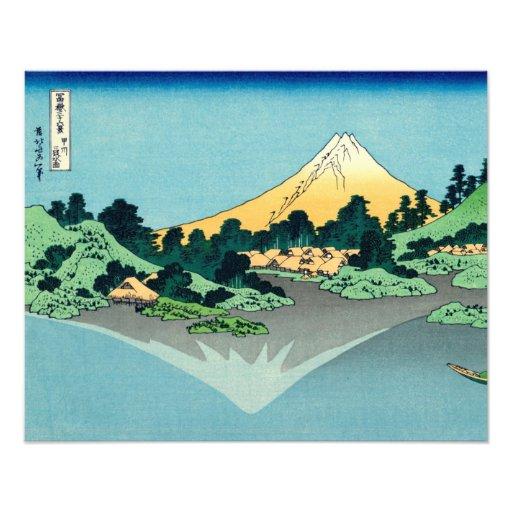 Mount Fuji reflects Photo Art