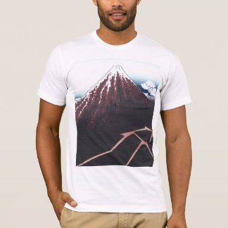 Mount Fuji Ukiyo-e by Hokusai, Japanese T-Shirt