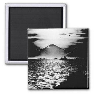 Mount Fujiyama, Japan as seen_War Image Magnet