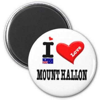 MOUNT HALLON - I Love Magnet