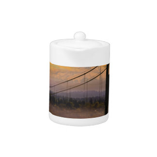 Mount Hood by St Johns Bridge during Sunrise
