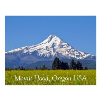 Mount Hood in Oregon USA Postcard
