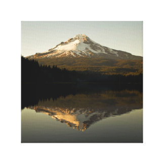 Mount Hood on Trillium Lake Canvas Print
