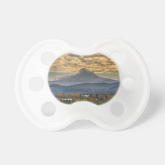 Mount Hood Over Farmland in Hood River in Fall Pacifier
