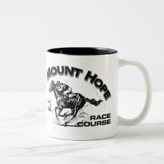Mount Hope Race Course Two-Tone Coffee Mug
