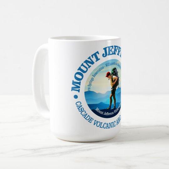 Mount Jefferson (Hiker C) Coffee Mug