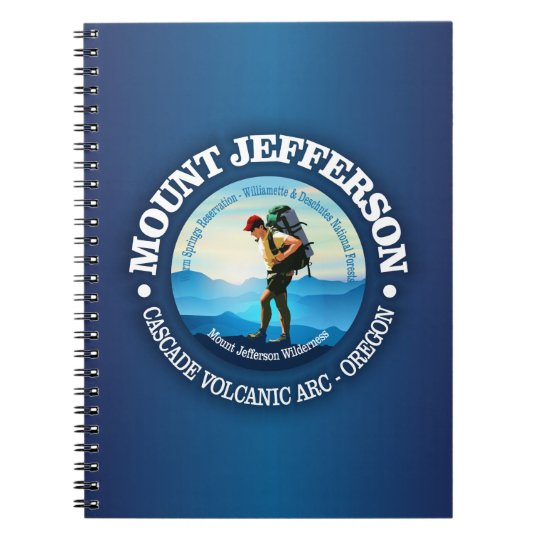 Mount Jefferson (Hiker C) Notebook