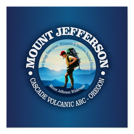 Mount Jefferson (Hiker C) Poster