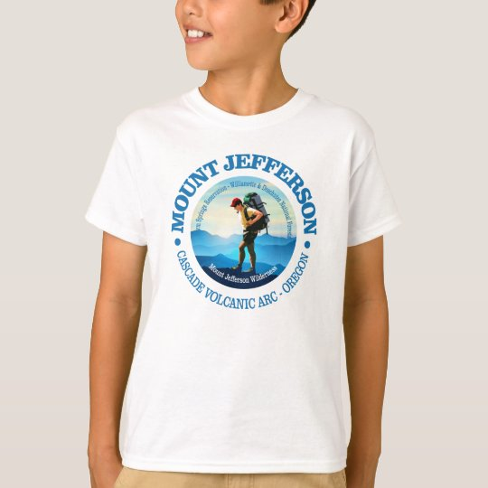 Mount Jefferson (Hiker C) T-Shirt