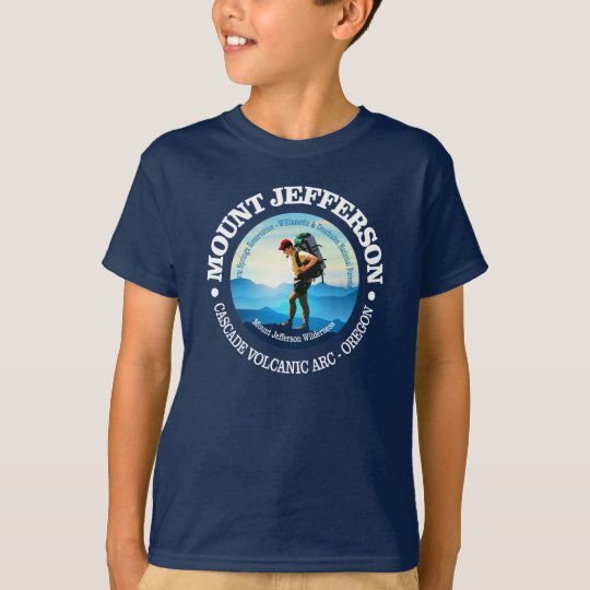 Mount Jefferson (Hiker C) T-Shirt