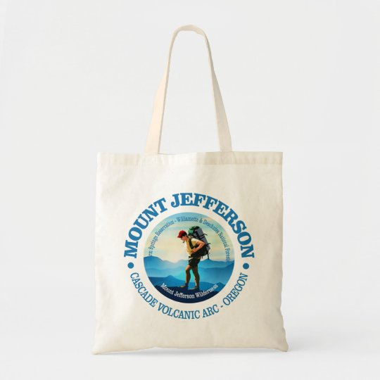 Mount Jefferson (Hiker C) Tote Bag