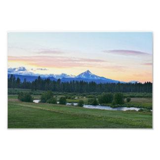 Mount Jefferson, Oregon Volcano Photo Print