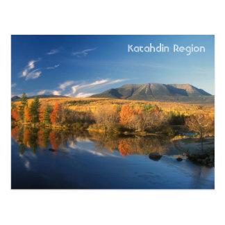 Mount Katahdin Autumn Postcard