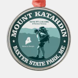 Mount Katahdin Metal Ornament