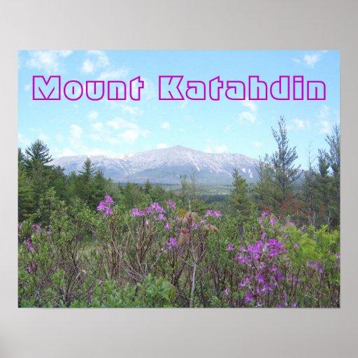 Mount Katahdin Poster