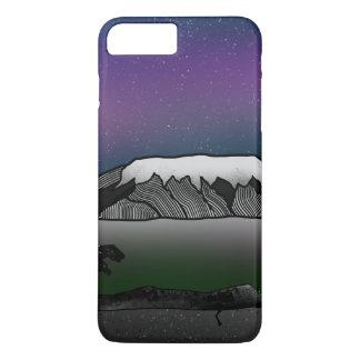 Mount Kilimanjaro illustration iPhone 8 Plus/7 Plus Case