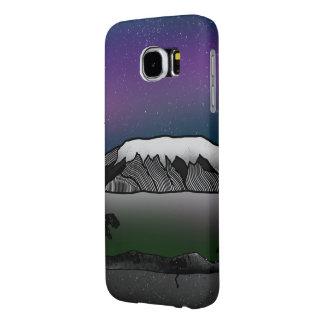 Mount Kilimanjaro illustration Samsung Galaxy S6 Case