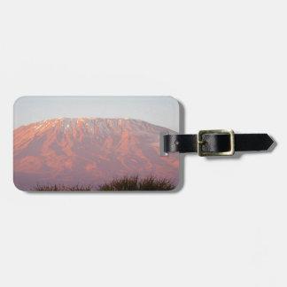 Mount Kilimanjaro Luggage Tag