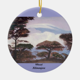 Mount Kilimanjaro Ornament