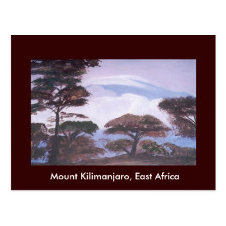 Mount Kilimanjaro, Tanzania Postcard