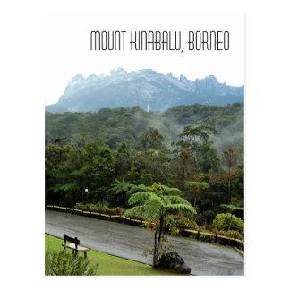 Mount Kinabalu Mountain View Sabah Borneo Postcard