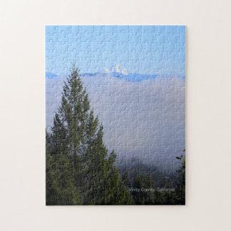 Mount Lassen in the fog... Jigsaw Puzzle