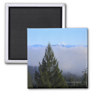 Mount Lassen in the fog... Magnet