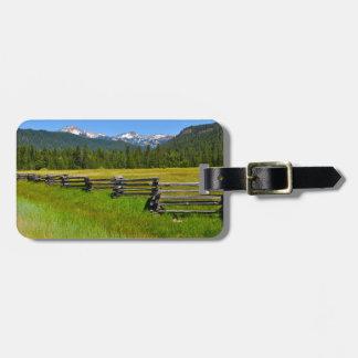 Mount Lassen National Park in California Bag Tag