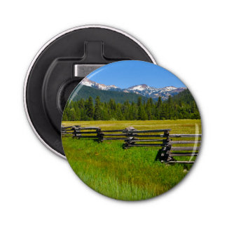 Mount Lassen National Park in California Bottle Opener