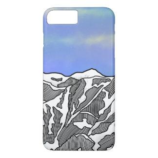 Mount Logan illustration Case-Mate iPhone Case