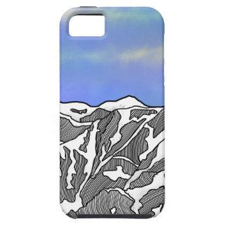 Mount Logan illustration iPhone 5 Case