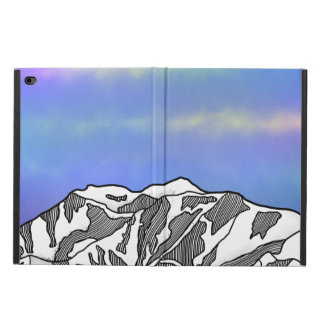 Mount Logan illustration Powis iPad Air 2 Case