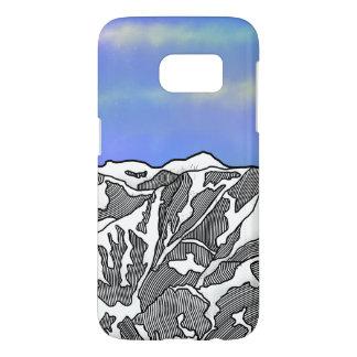 Mount Logan illustration Samsung Galaxy S7 Case