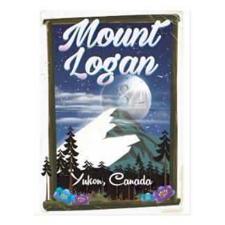 Mount Logan , Yukon, Canada Postcard