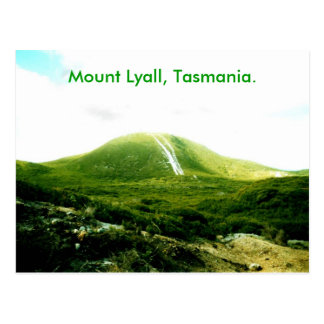 Mount Lyall, Tasmania. Postcard