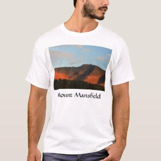 Mount Mansfield Autumn Glow Sunset T-Shirt